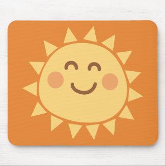 Tapis de souris de soleil