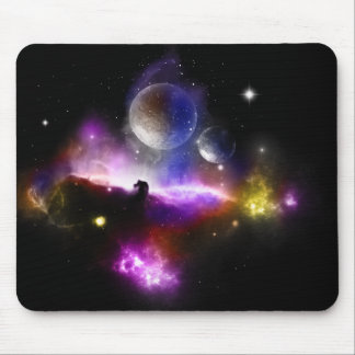 Tapis de souris de système solaire