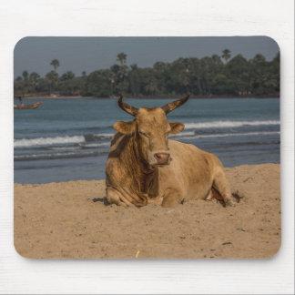 Tapis de souris de vache de la Gambie