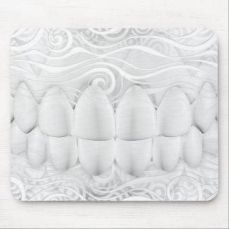 Tapis De Souris Dentiste blanc parfait Mousepad de sourire de