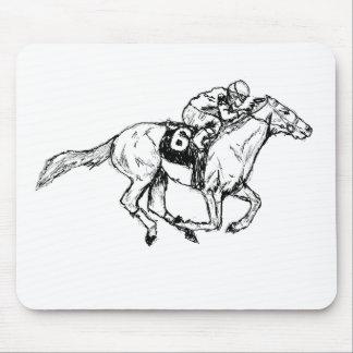 Tapis De Souris Derby je le Kentucky