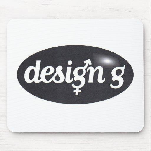 tapis de souris design g zazzle. Black Bedroom Furniture Sets. Home Design Ideas