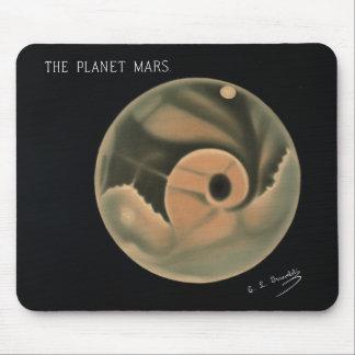 Tapis De Souris Dessins de Trouvelot - la planète Mars