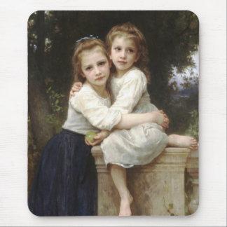 Tapis De Souris Deux soeurs