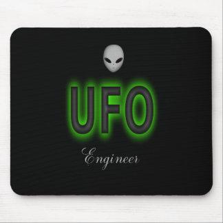 Tapis de souris d'ingénieur d'UFO