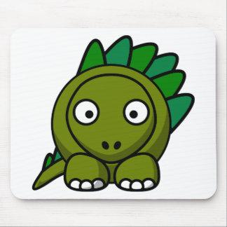 Tapis De Souris Dinosaure de bande dessinée