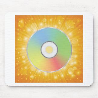 Tapis De Souris disque coloré