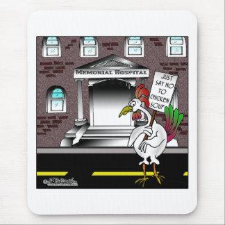 Tapis De Souris Dites juste non au potage au poulet