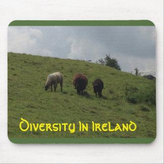 Tapis De Souris Diversité dans l'Irlandais de l'Irlande Mousepad