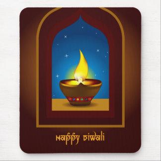 Tapis De Souris Diwali heureux