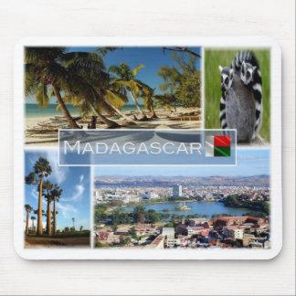 Tapis De Souris DM Madagascar - l'Océan Indien -