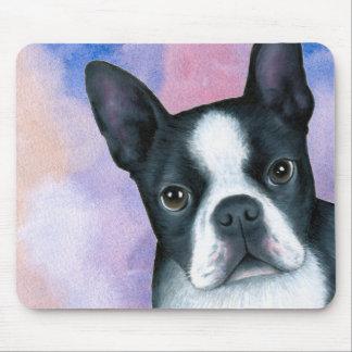 Tapis De Souris dog 128 color Boston Terrier
