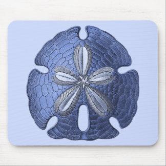 Tapis De Souris Dollar de sable bleu