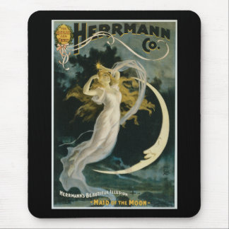 Tapis De Souris Domestique vintage de Herrmann de l'affiche de