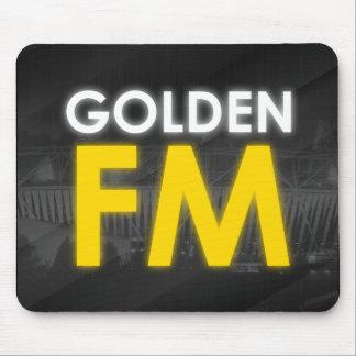 Tapis de souris d'or de FM