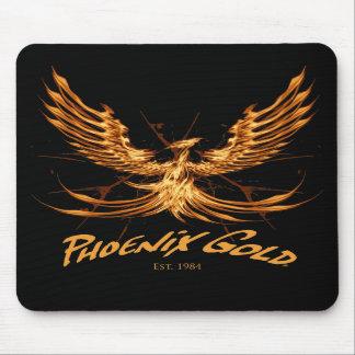 Tapis de souris d'or de Phoenix