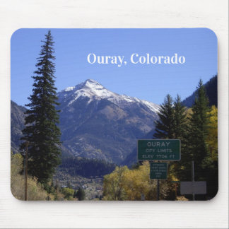 Tapis de souris d'Ouray le Colorado