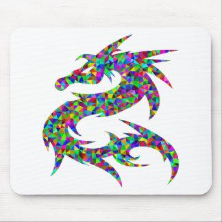 Tapis De Souris dragon coloré