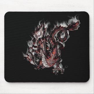 TAPIS DE SOURIS - dragon de Smoke'n