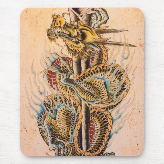 Tapis de souris dragon japonais - Dragon japonais ...