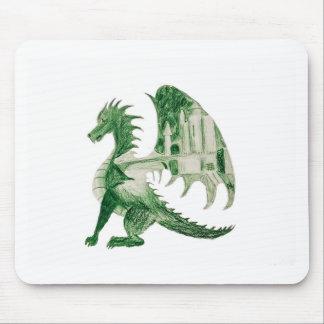 Tapis De Souris Dragon vert
