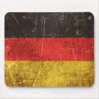 Tapis De Souris Drapeau âgé et rayé de cru de l'Allemagne
