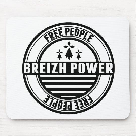 Tapis De Souris drapeau Breizh Bretagne Breton free people