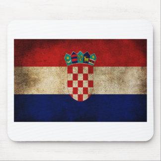 Tapis De Souris Drapeau de la Croatie