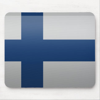 Tapis De Souris Drapeau de la Finlande.