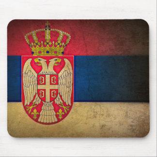 Tapis De Souris drapeau de la Serbie