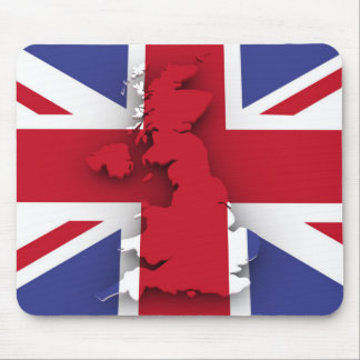 Tapis De Souris Drapeau de pays de la Grande-Bretagne