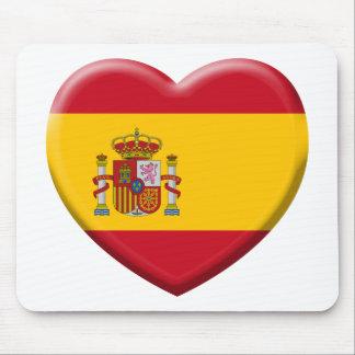 Tapis De Souris Drapeau Espagne