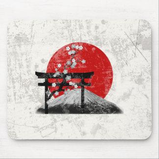 Tapis De Souris Drapeau et symboles du Japon ID153