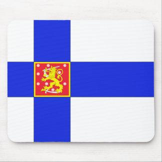 Tapis De Souris Drapeau finlandais