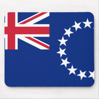 Tapis De Souris Drapeau national du monde de Cook_Islands