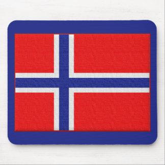 Tapis De Souris Drapeau norvégien