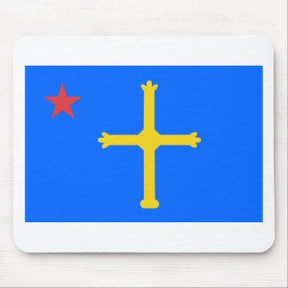 Tapis De Souris Drapeau socialiste des Asturies - Asturina