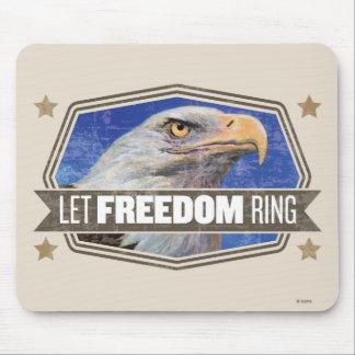Tapis De Souris Eagle-Laissez l'anneau de liberté