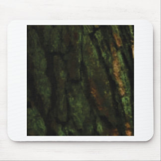Tapis De Souris écorce d'arbre verte