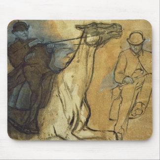 Tapis De Souris Edgar Degas | deux études des cavaliers