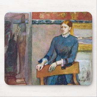Tapis De Souris Edgar Degas | Helene Rouart dans l'étude de son