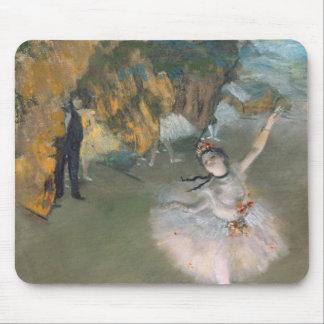 Tapis De Souris Edgar Degas | l'étoile, ou danseur sur l'étape