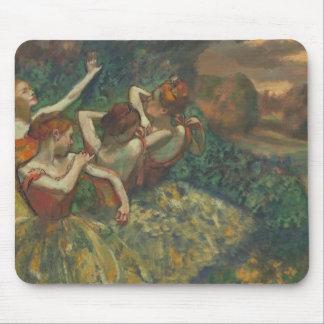 Tapis De Souris Edgar Degas | quatre saisons dans l'une tête,