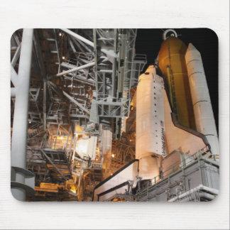 Tapis De Souris Effort de navette spatiale sur la plate-forme de