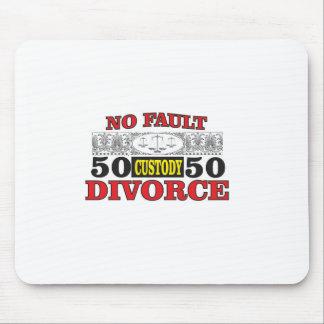 Tapis De Souris égalité 50 du divorce sans faute 50