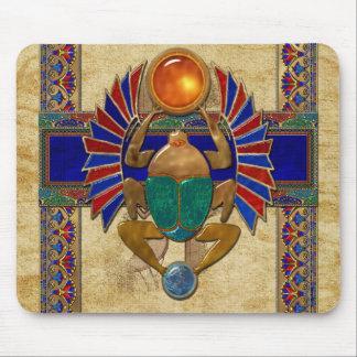 Tapis De Souris Egyptien du sarcophage 3D