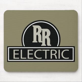 Tapis de souris électrique de rail rapide