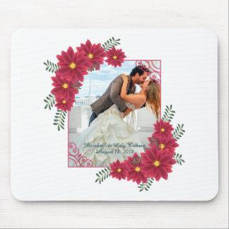 Tapis De Souris Élégant ajoutez votre propre photo épousant |