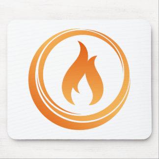 Tapis De Souris Éléments du feu