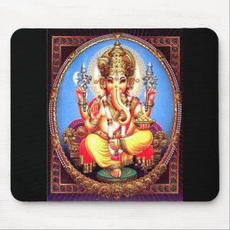 Tapis De Souris Éléphant d'Asie de Ganesha (गणेश)